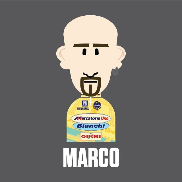 #Pantani his fate was such a shame.
