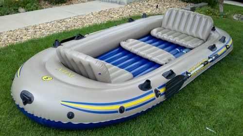 Bug out boat?: Excur 5 Raft, Boats Sets, Rivers T-Shirt, Ebay, Lakes Fish, Bugs Outs Boats, Intex Excursion, Rivers Lakes, The Roller Coasters