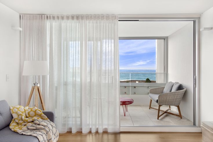 The Pacific Bondi Beach – style, function, classic sheer drapery s-wave style Installed by Marlow and Finch   #window #windows #curtains #curtaindesign #drapes #windowcoverings #interiordesign #shutters #blinds #curtainsandblinds #windowfurnishing #renovation #homedecor #homedesign #blindsandshutters #blindsandshades #modern #contemporary #decorating #windowblinds #interiordecoration #upgrade