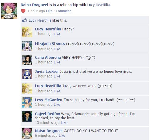 Fairy Tail on Facebook