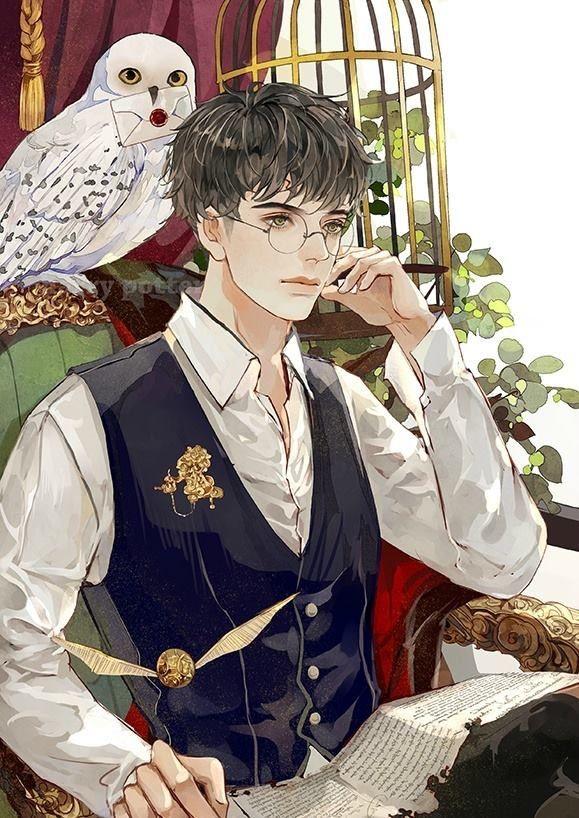 Harry Potter  Artist : 长乐nina ( Weibo )