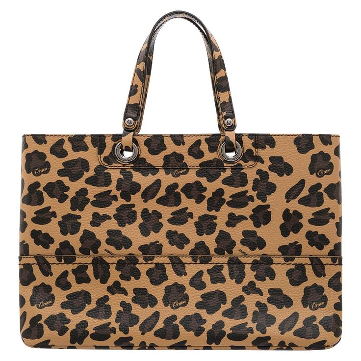 Oroton's classic Entourage tote has had an update!  Featuring an on-trend animal print, the Entourage Print tote is crafted from printed pebble grain calf leather and is sure to be a stand out this season.  Team back with black to really make the print pop.
