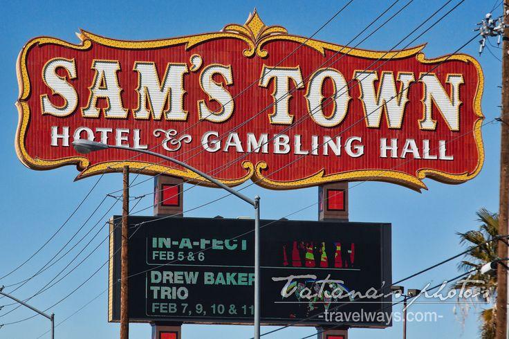 Sam's Town Hotel & Casino Sign, Las Vegas