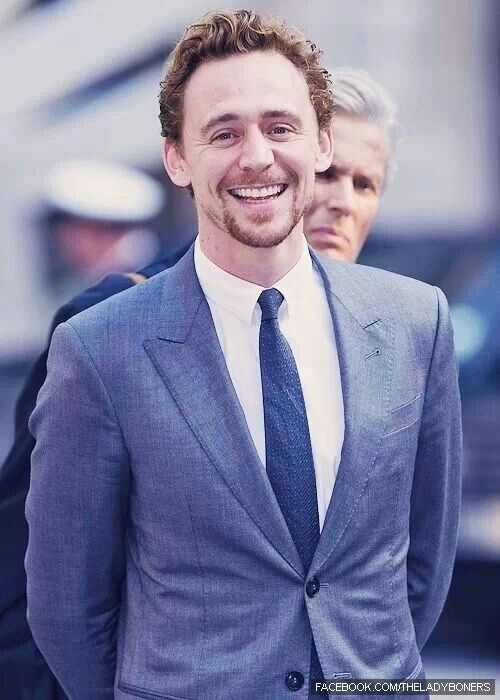 Tom Hiddlestons smile ♥_♥