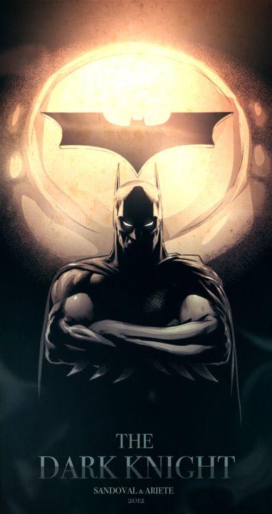 The Dark Knight by Sergio Sandoval & Guillermo Ariete