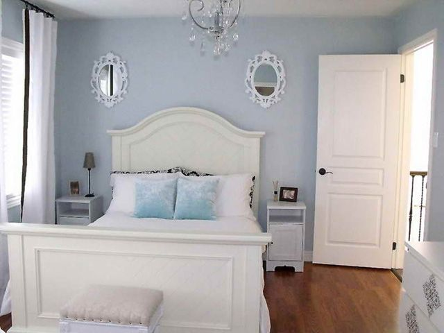 Guest Bedroom Paint Ideas Cool Of Light French Grey Blue Paint for Bedrooms Photo