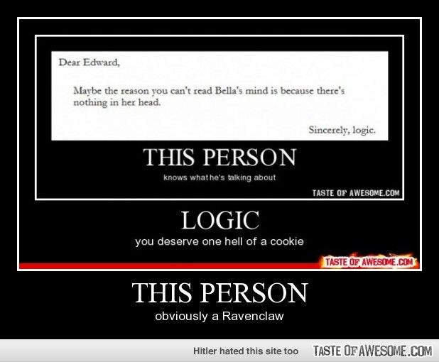 Because us Potterheads always enjoy a good Twilight-bashing. You're welcome.