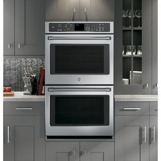 GE Cafe Series CT9550SHSS Stainless Steel 30-inch Double Wall Oven - Free Shipping Today - Overstock.com - 17176703 - Mobile