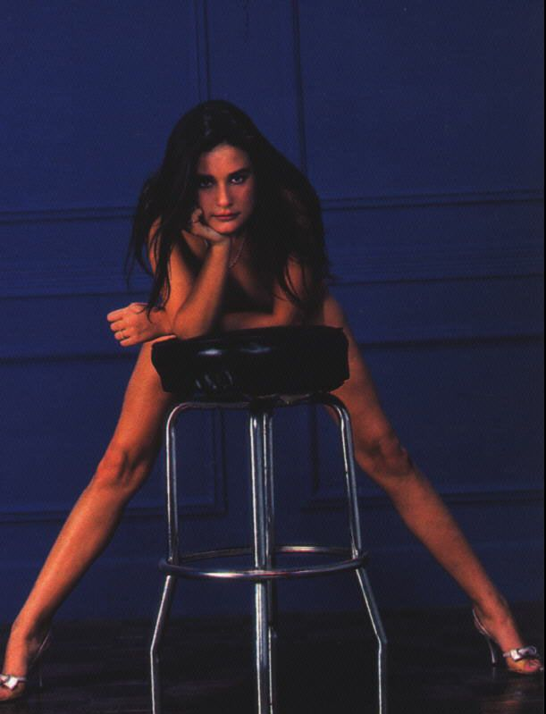 Demi moore naked on chair gangbang