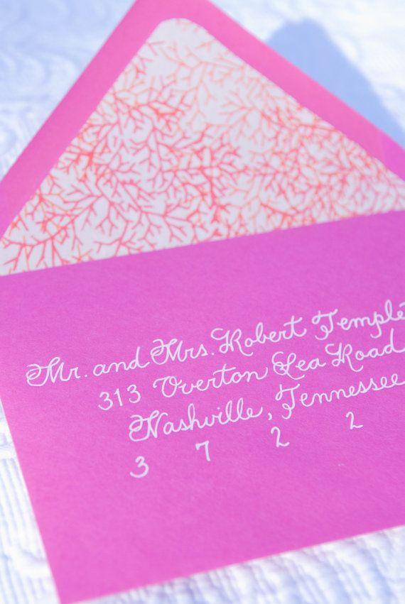 17 Best Ideas About Handwritten Wedding Invitations On