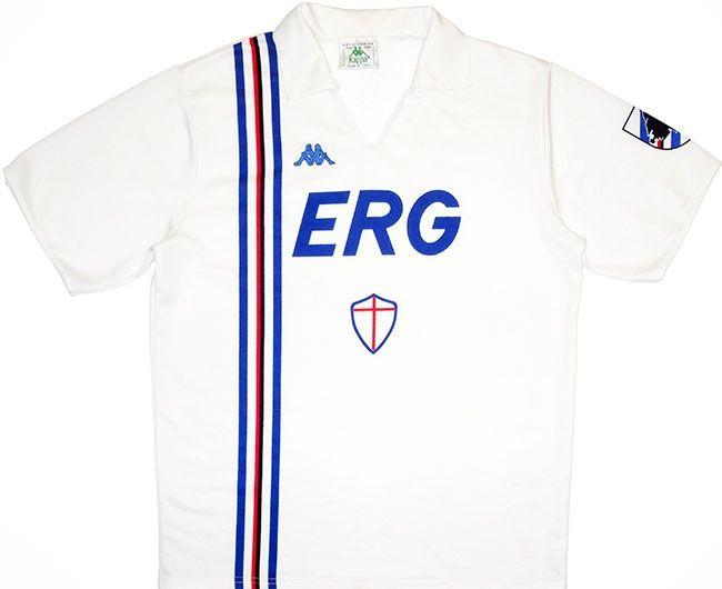 1988-90 Sampdoria Kappa Away Shirt