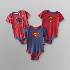 Infant Boy's Bodysuit - 3-Pack - Kmart