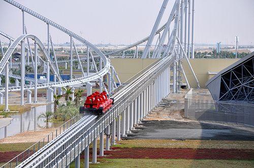 formula 1 roller coaster dubai