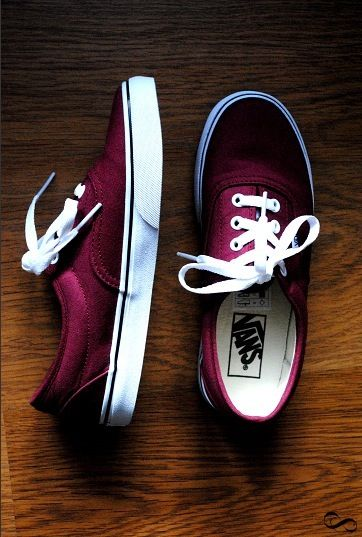 I love Vans! <3 They are the best shoes in existence . . . And I'm OBSESSED with this color!