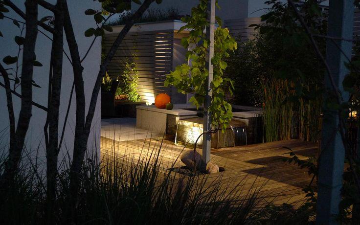 osvětlení zahrady pro příjemnou atmosféru večerů / garden lighting for pleasant atmosphere