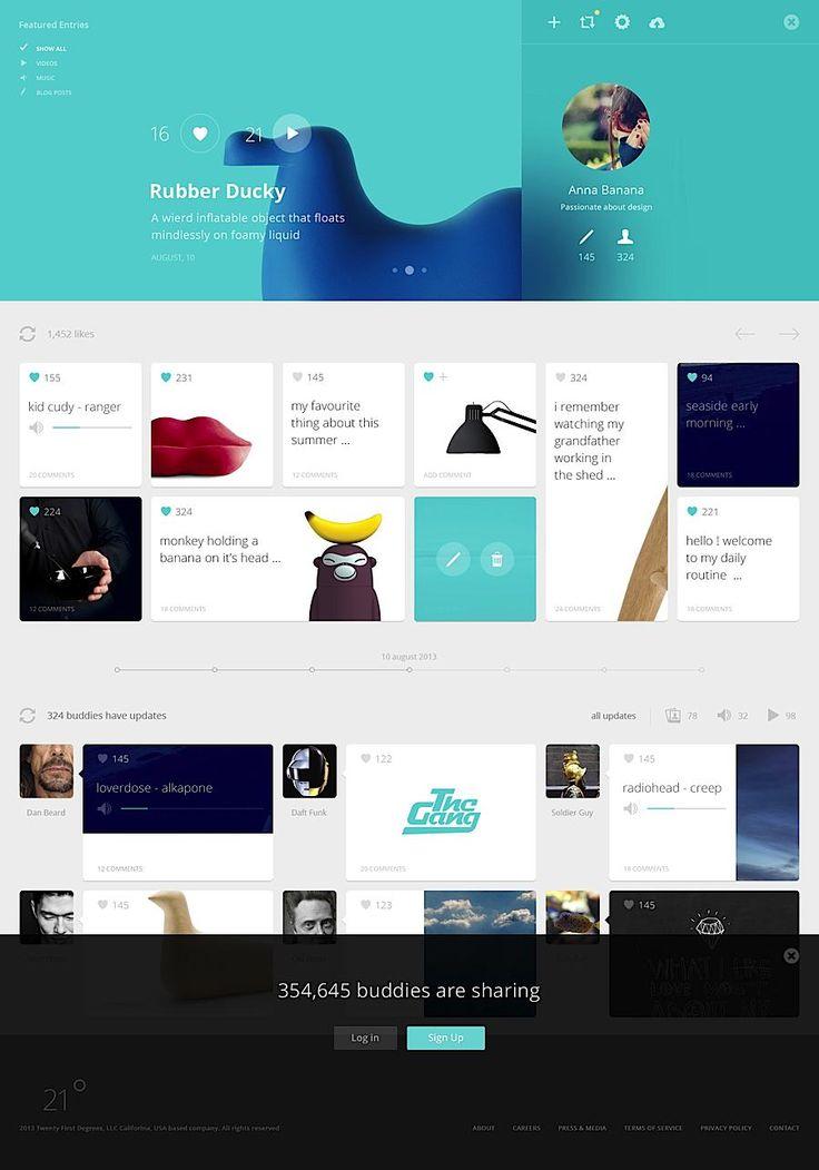 Creative UI Design by Cosmin Capitanu