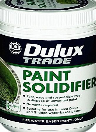 Dulux 1 x Dulux® Paint Solidifier Professional DIY Waste Paint Hardener Fast Dry Universal Activator 500g No description (Barcode EAN = 0759803267881). http://www.comparestoreprices.co.uk/december-2016-week-1/dulux-1-x-dulux®-paint-solidifier-professional-diy-waste-paint-hardener-fast-dry-universal-activator-500g.asp