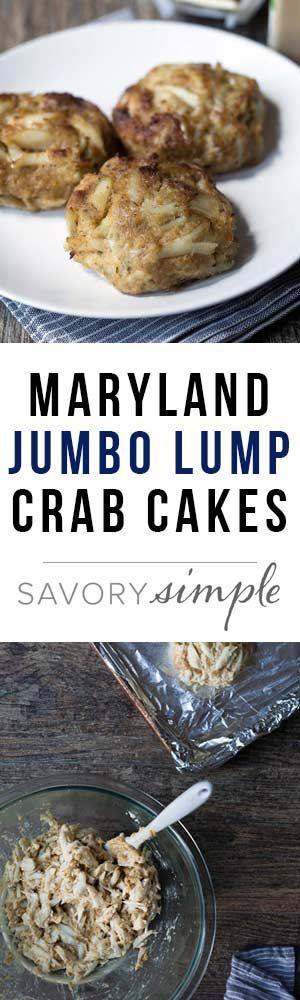 The BEST Jumbo Lump Crab Cakes you'll ever try. My grandmother's recipe! #seafoodrecipes