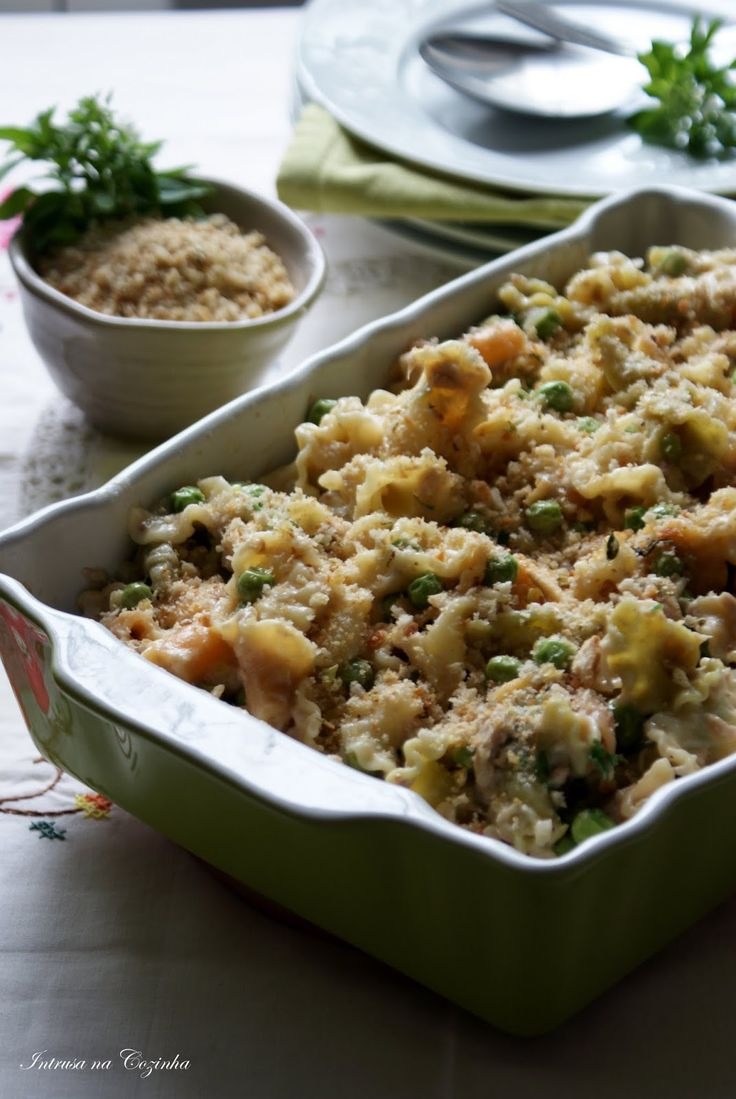 Intrusa na Cozinha - Massa Gigli com Atum e Ervilhas // Gigli Pasta with Tuna and Peas