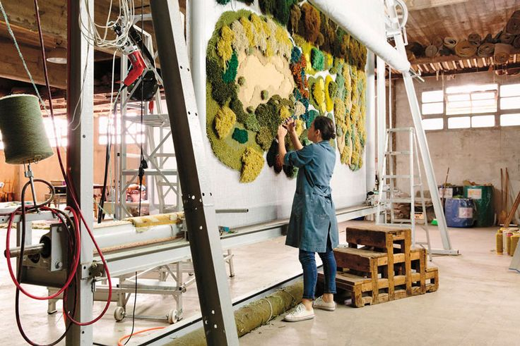 Wool Rug Artworks Tribute to Nature – Fubiz Media
