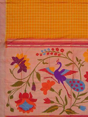 Paithani Saree special pallu design