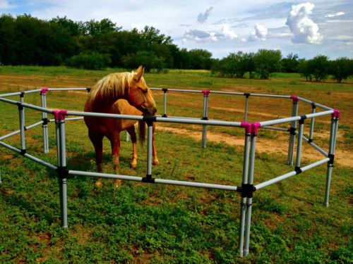 Portable horse corral corrals panels pens usa made free