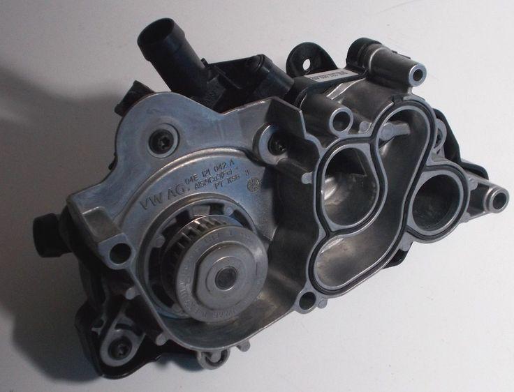 168.89$  Watch more here  - NEW GENUINE VW Golf Polo Audi A1 A3 1.2 1.4 TSI TFSI water pump 04E 121 600 AD 04E121600AD