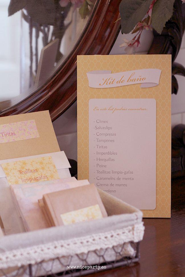 Nice Party Kit de baño para bodas