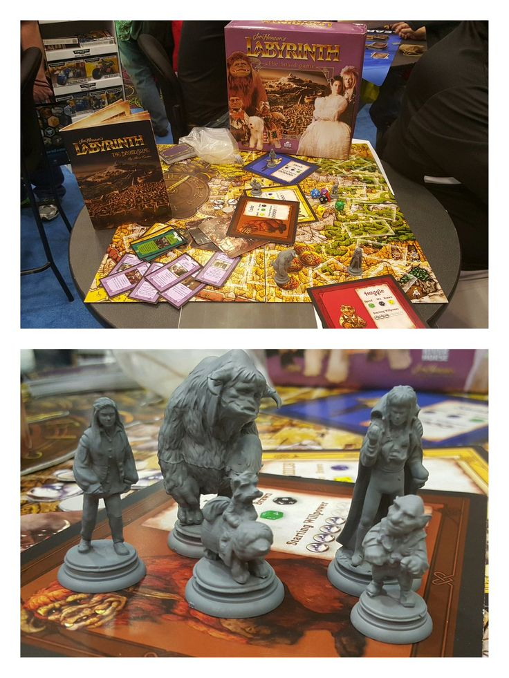 River Horse Show Off Labyrinth Board Game At GAMA