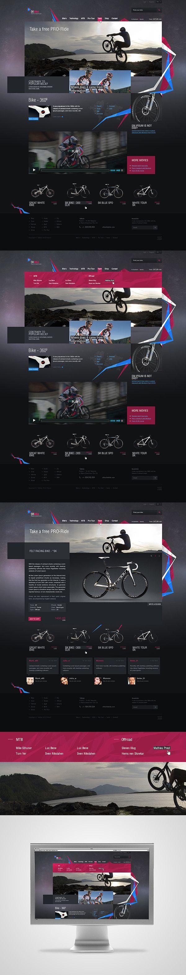 *SKbike on Web Design Served