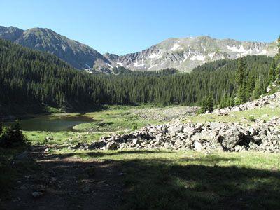 Williams Lake trail - Taos, NM