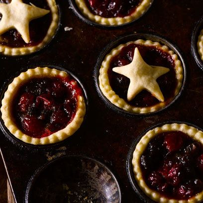 Cranberry mince pies. Pair with brandy cream for an ideal Christmas dessert. For the full recipe, click the picture or visit RedOnline.co.uk
