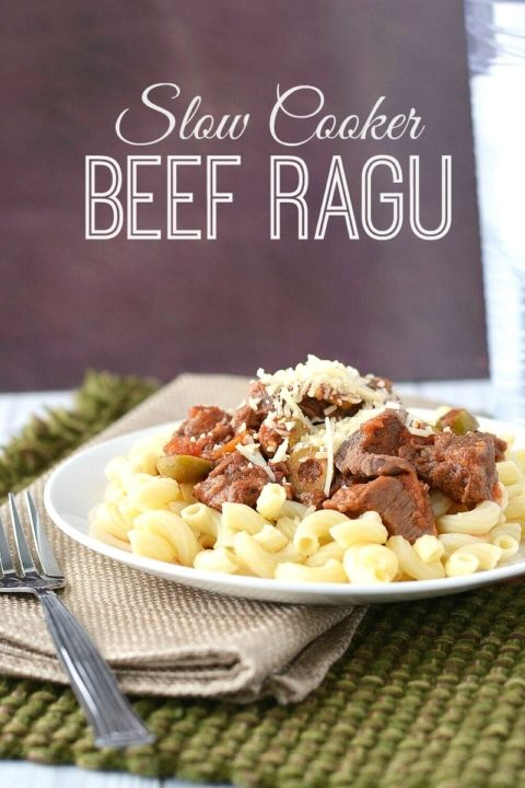 Slow Cooker Beef Ragu – Recipes, Printable Coupons | $5 Dinners™