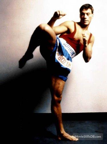 Kickboxer - Promo shot of Jean-Claude Van Damme