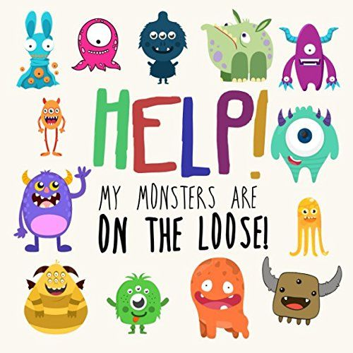 Help! My Monsters Are on the Loose!: A Where's Wally Style Book for 2-4 Year Olds //Price: $6.89 & FREE Shipping //