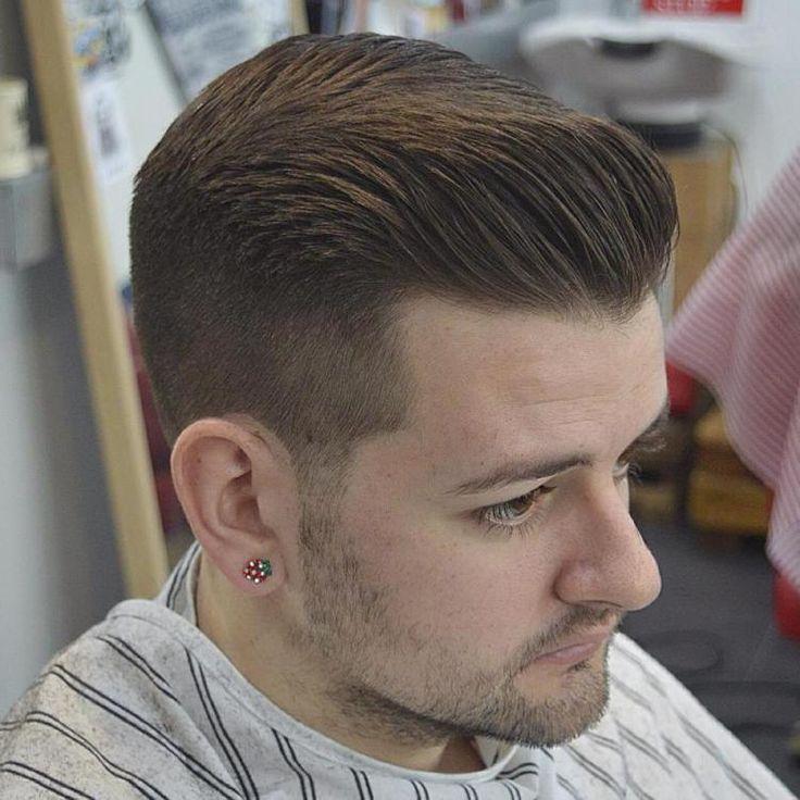 Short Pompadour Haircut