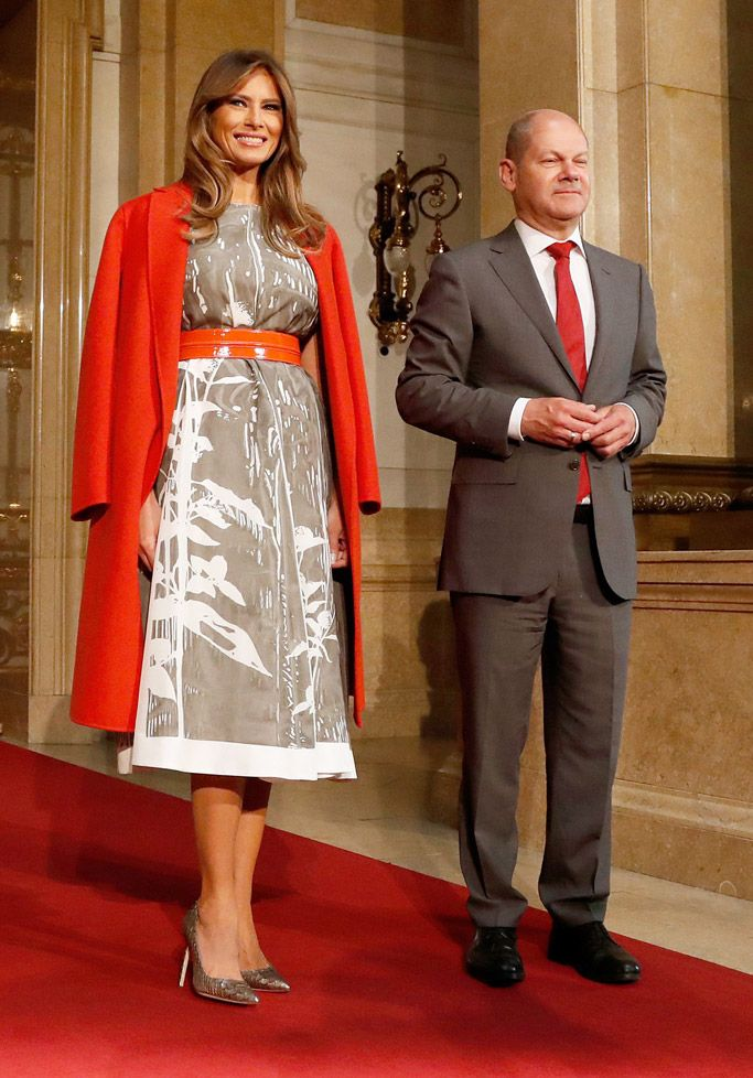Melania Trump in Germany