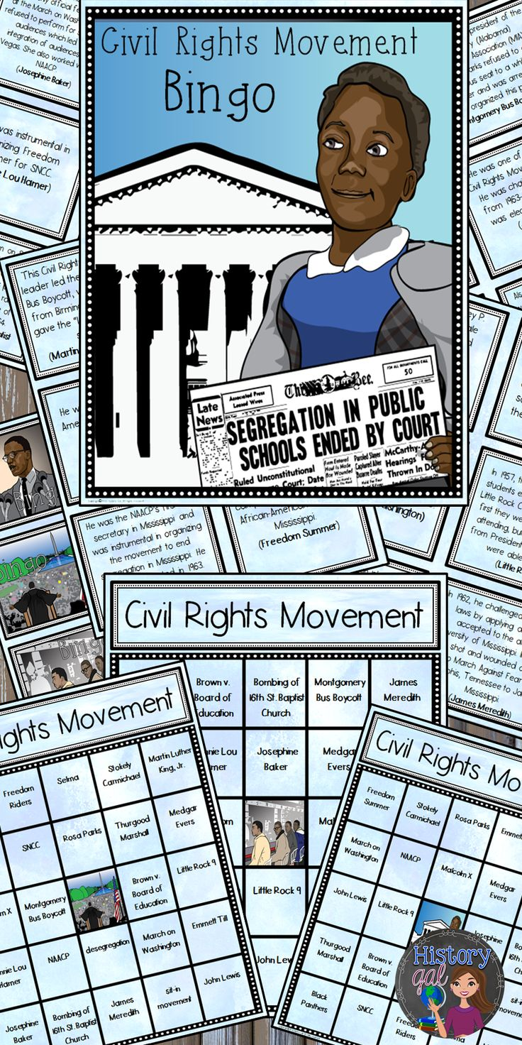 civil rights movement events