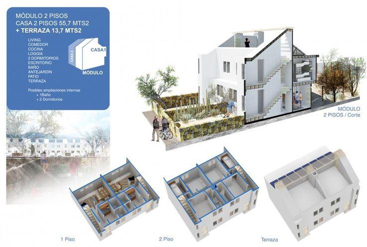 Galería de Inician construcción del primer barrio ecosustentable de Chile en Chañaral, Región de Atacama - 6