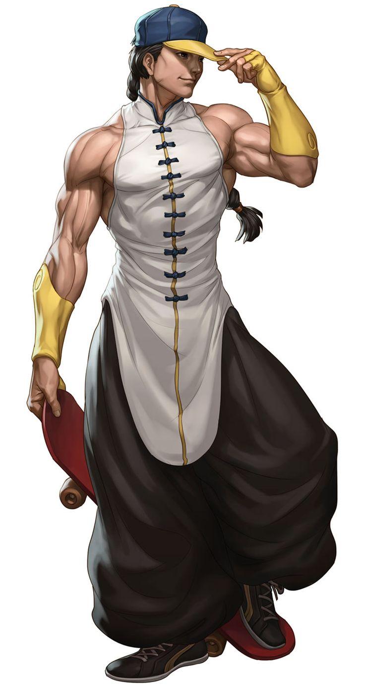 Yun from Street Fighter III: Third Strike Online Edition
