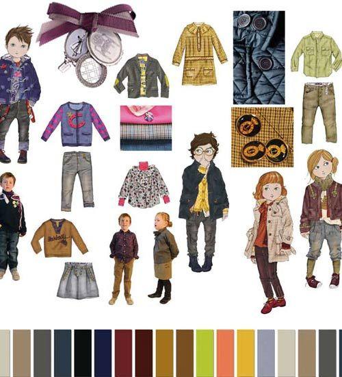 """Gold Metalillist"" Winter (Invierno) Childrens Clothing Color Trends 2012 Peclers for CIFF (Copenhagen International Fashion Fair { via Nuestros Hijas }"