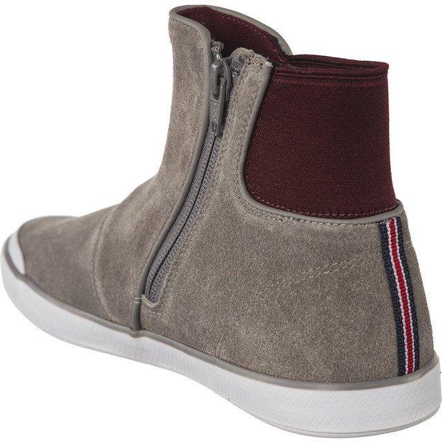Pozostale Damskie Lacoste Lacoste Szare Lancelle Chelsea 317 1 Caw 007 Chelsea Boots Boots Chelsea