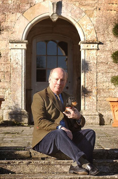 Famous People Loving Dachshunds Julian Fellowes, the creator Downton Abbey