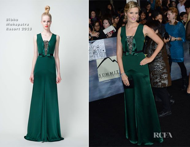 Maggie Grace looking fantastic In Bibhu Mohapatra
