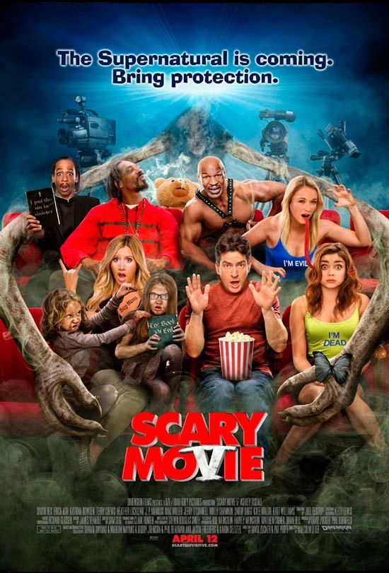 Scary Movie 5. Love all the scary movies so it was even more amazing that Mac Miller was in it