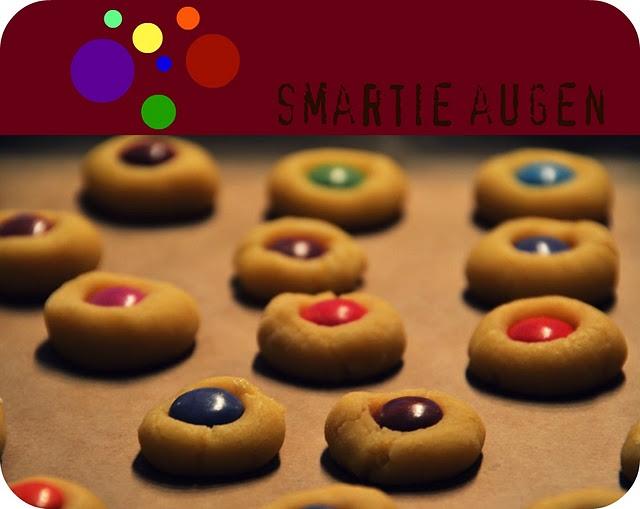 Kekse mit Smarties