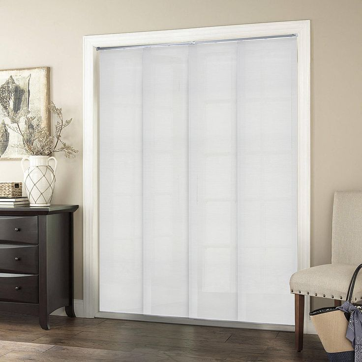 25 best ideas about sliding panel blinds on pinterest for Sliding glass doors 80 x 96