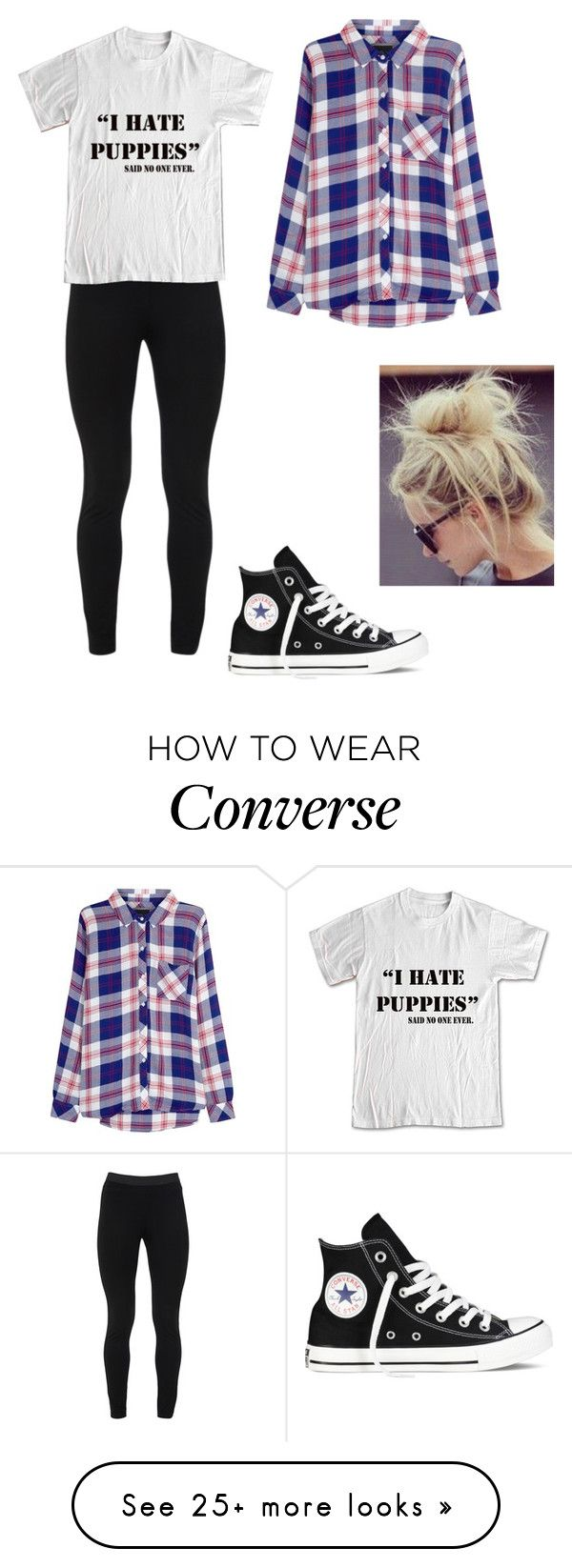 """""""SOOO me"""" by toty1008 on Polyvore featuring Peace of Cloth, Rails and Converse"""