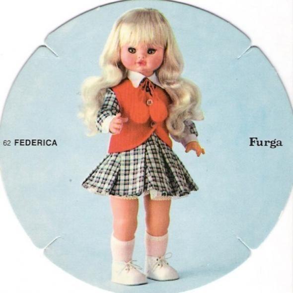 Federica furga catalogo dolly do 1970