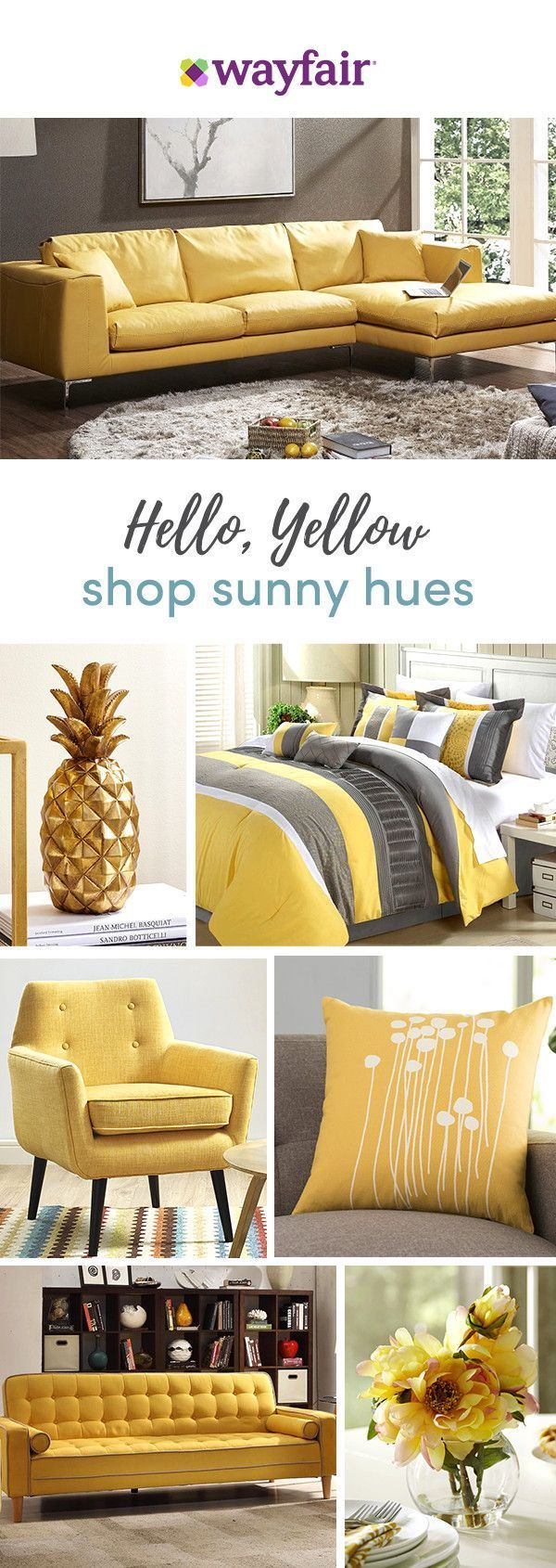 Want a bright and bold accent or a color-pop on the tabletop? From everyday essentials to festive furnishings and more, Wayfair has thousands of home must-haves in shades that suit every style, space, and budget. Visit Wayfair to get exclusive deals at up to 70% OFF, plus FREE shipping on all orders over $49. Here's to staying gold! Sign up and shop now.
